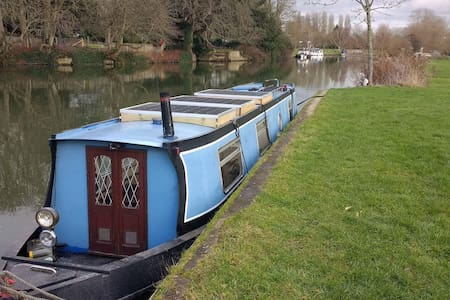 Try the houseboat life! - Oxford - Boot