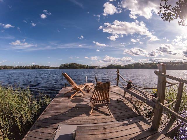 Private Island at Downtown Jyväskylä!