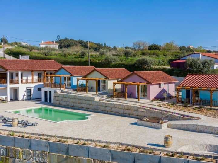 Bungalow with Patio, privacy and a wonderful view