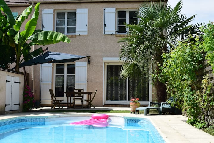 House with swimming pool near Versailles - Bois-d'Arcy - Talo