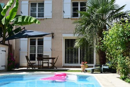 House with swimming pool near Versailles - Bois-d'Arcy - Casa