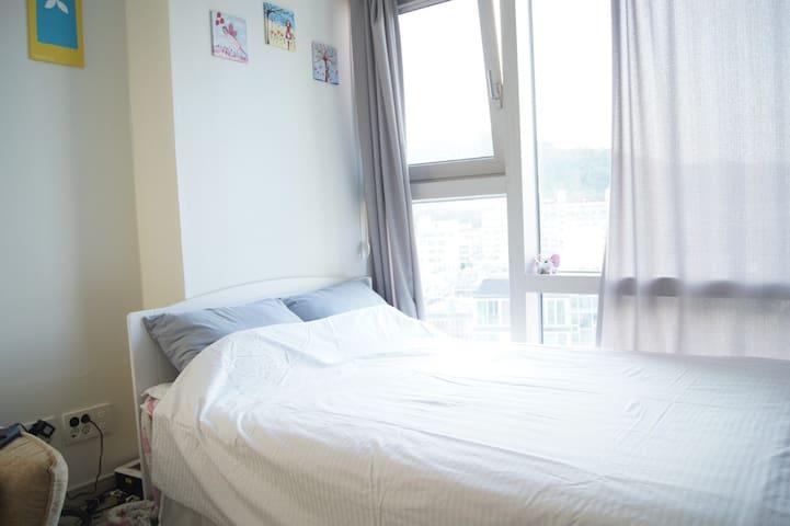 부산 광안리해수욕장의 깨끗하고 편리한 숙소! - Suyeong-gu - Wohnung