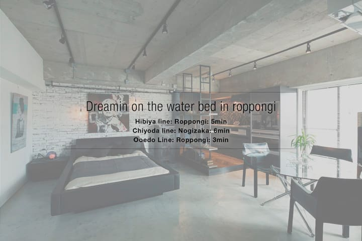 Dreamin on the Water bed In Roppongi - Minato-ku - Apartemen