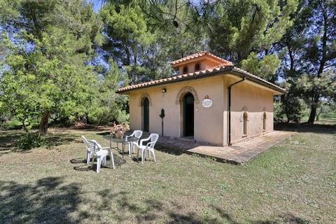 cottage Oleandri in campagna a Cecina