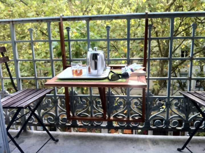 Berges du Rhone / Chambre avec balcon