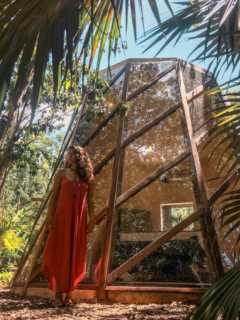 NEW Boutique Jungle Pod - Be immersed in Nature