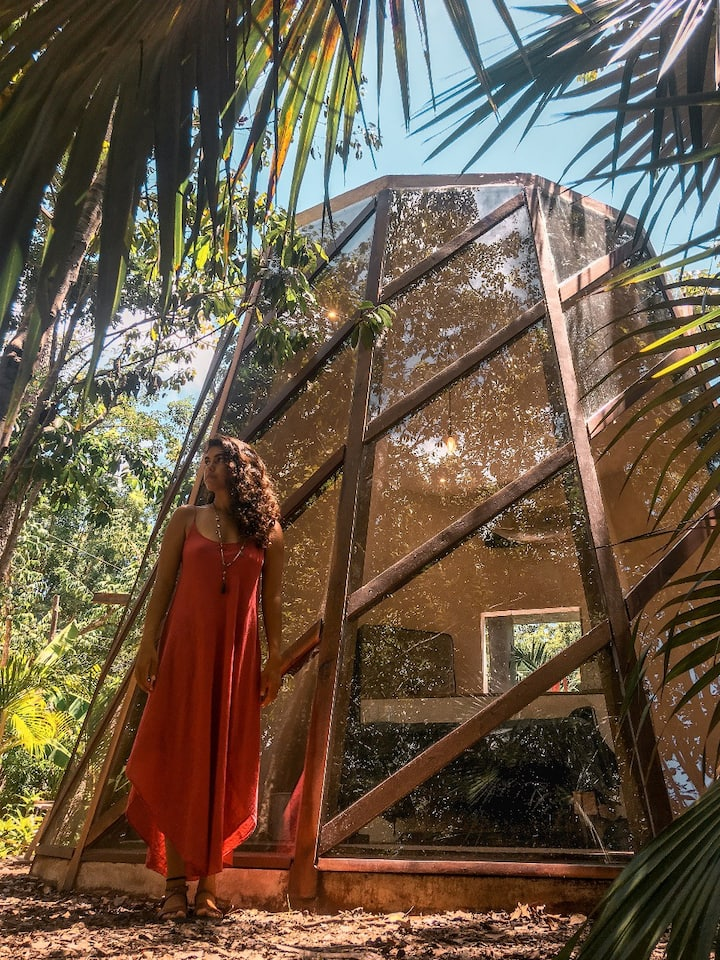Boutique Jungle Pod - Be immersed in Nature