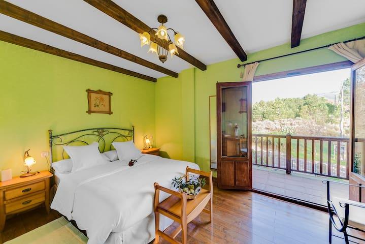Habitación Doble en Casa Rural Los Montejos & Spa