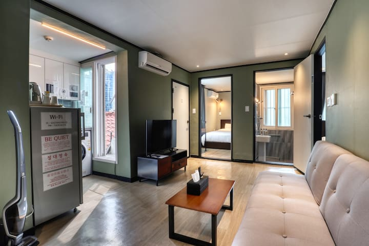 [7min Seoul Stn.] Private House for 4person