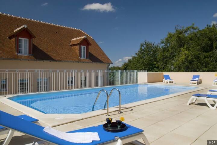 Studio 3 personnes Curistes et Vacances - La Roche-Posay - Daire