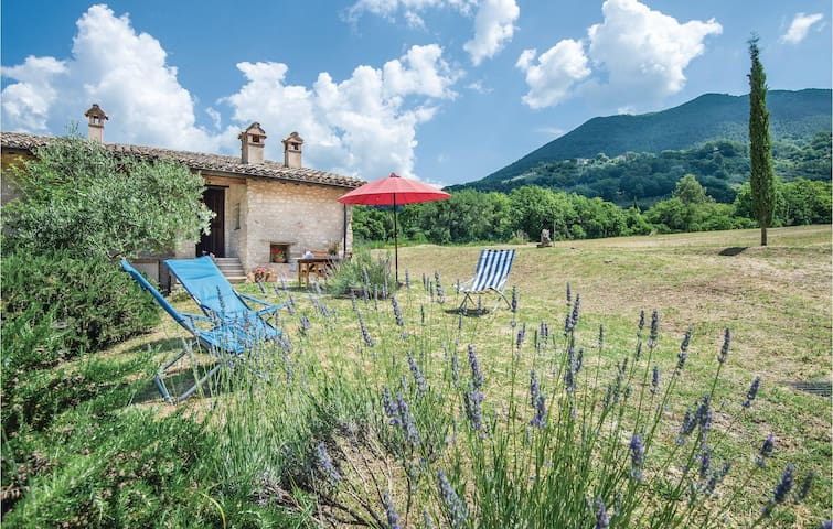 Holiday cottage with 1 bedroom on 45m² in Spoleto  PG