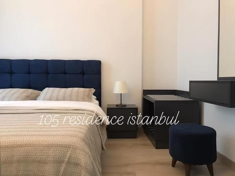 105 luxury Residence Istanbul 1+1 daire