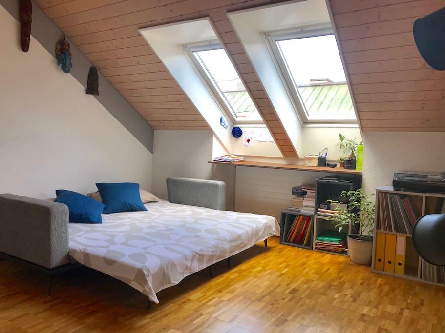 Double room 16m2