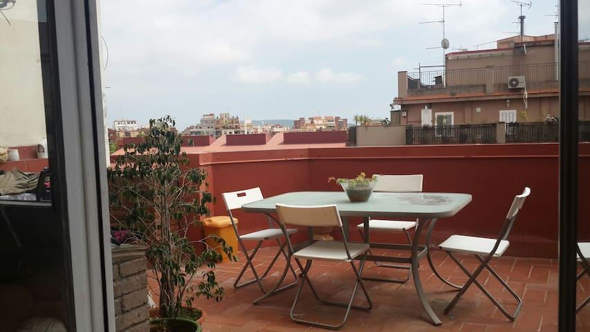 HABITACION DOBLE PRIVADA. - Barcelona - Apartament