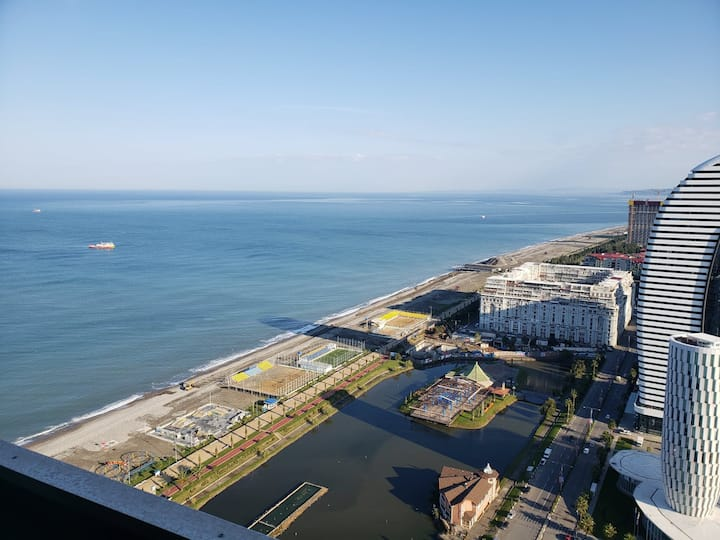 ⭐️Orbi City Batumi☆Cozy Apt☆Beach View & Balcony⭐️