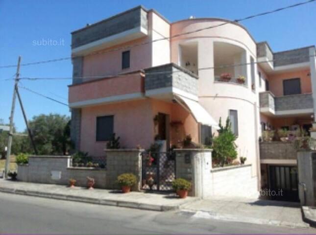 Bilocale nel SALENTO vicino al MARE - Borgagne - Apartamento