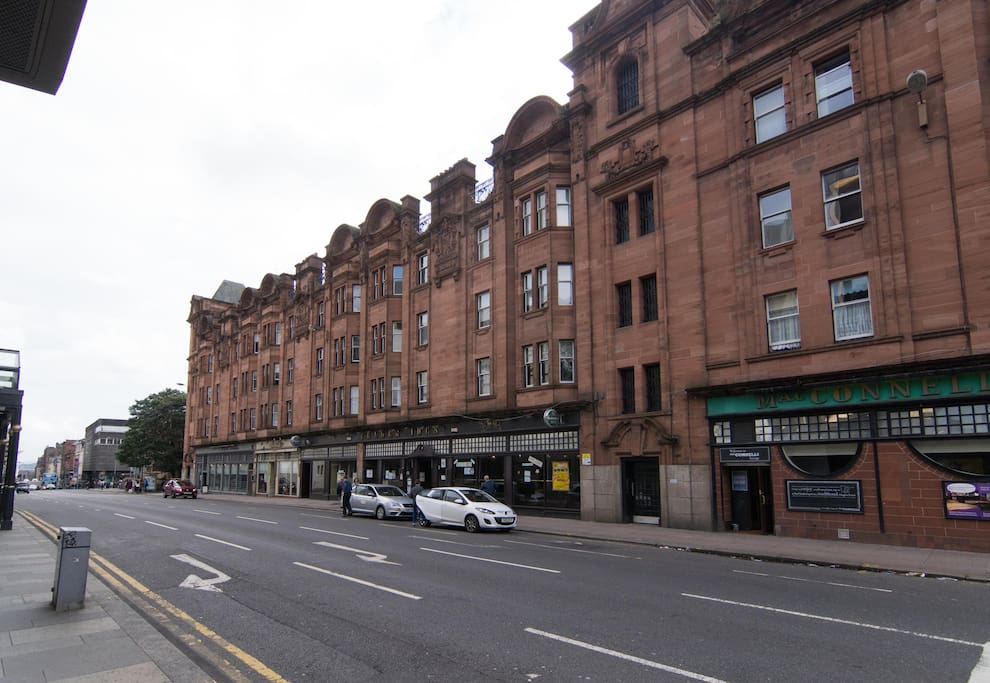 Centrally located building right across from Theatre Royal in city centre, with excellent transport links