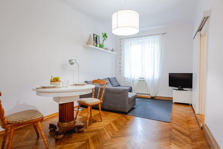 Apartament Saska Kępa