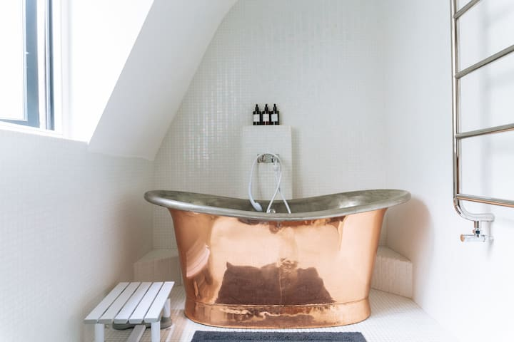 Copper Tub & shower adaptor