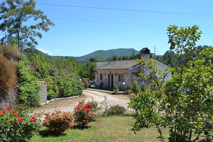 Caratteristico alloggio indipendente in campagna - Viterbo - Dům