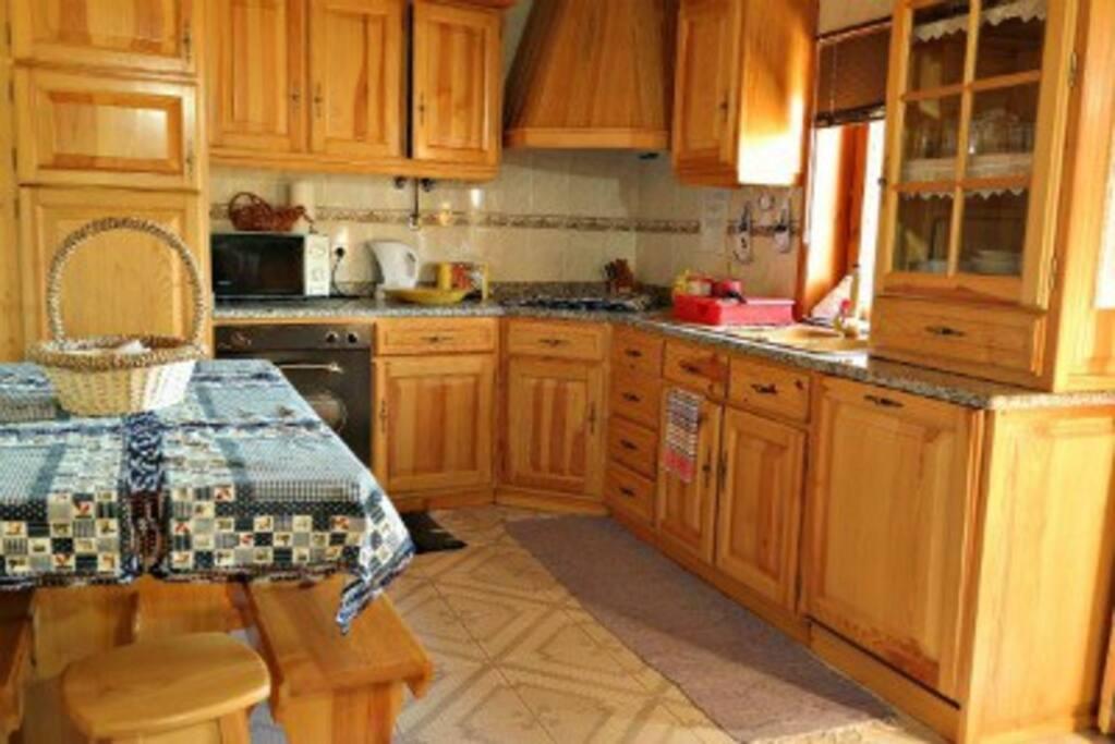 Casa da regada - cozinha