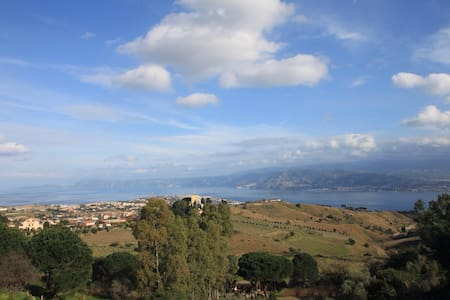 Villa in collina con piscina - Faro Superiore - House