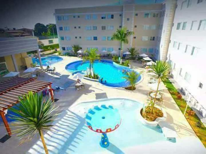 Apto 1 Quarto Encontro das águas Thermas Resort