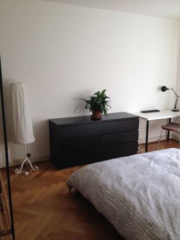 möbliertes Zimmer 16m2, hell und ruhig - Basel - Huoneisto