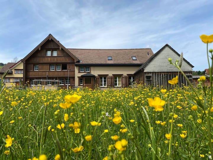 Urchige Maisonette Wohnung im Grünen