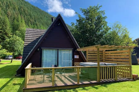 Lodge 26 Invergarry Lodges (hot tub)