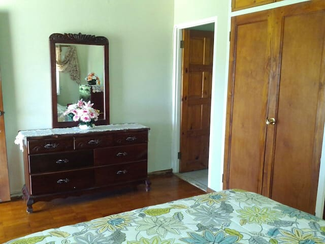 Another view of the private bedroom of this listing.