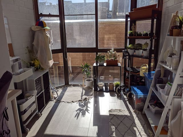 1 bedroom sunny unit in Lilyfield