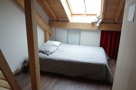 room with private restrooms/ downtown chambery - Apartment