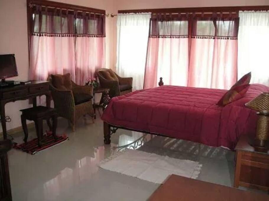master bed room 1  1800฿/night.