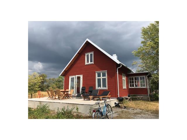 Gotland - Hus på Sudret - Nära badplats Nisseviken