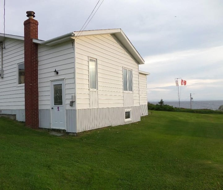 Cozy ocean view 3 BR house in Iceberg Alley