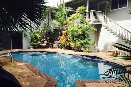 Sunshine Suite at Kailua Gardens Estate - Szoba reggelivel