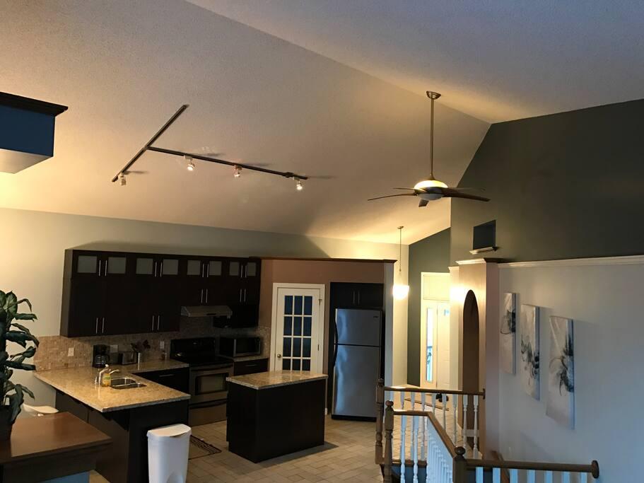 Kitchen high view