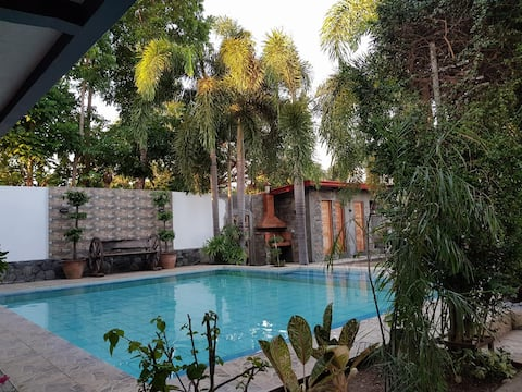 Transient Place with Pool in Orion Bataan