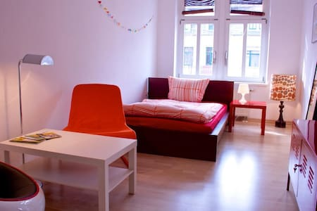 Spacious room in the heart of Dresden - Dresden - Apartamento