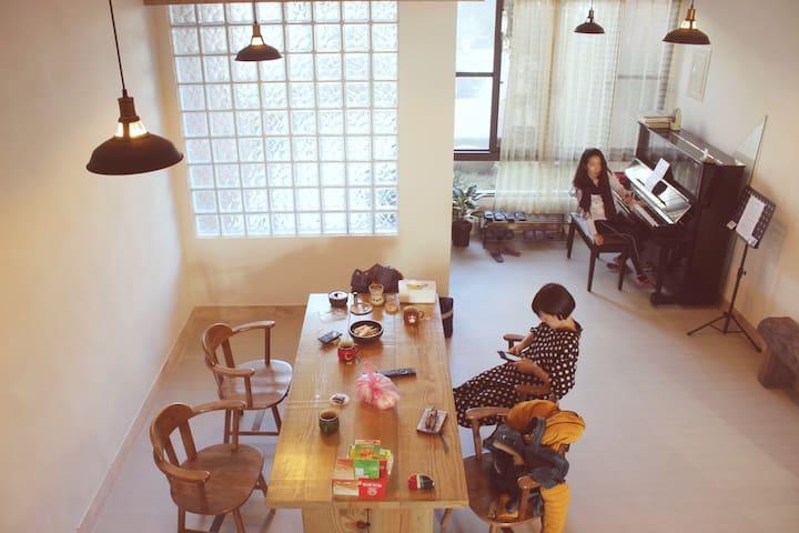 瑞穗民宿 老林家 Lin's  Inn – 慶祝單身的100種方法 (2人房ㄧ人住優惠) *玩水泡湯 - Ruisui Township - Haus