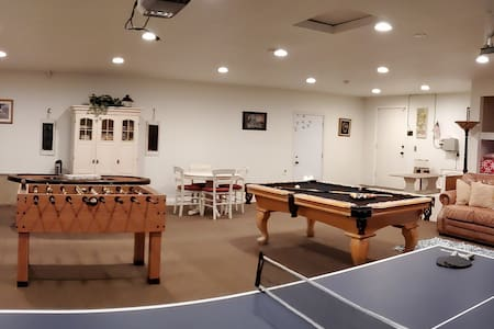 Private wine country home,  game room and pool