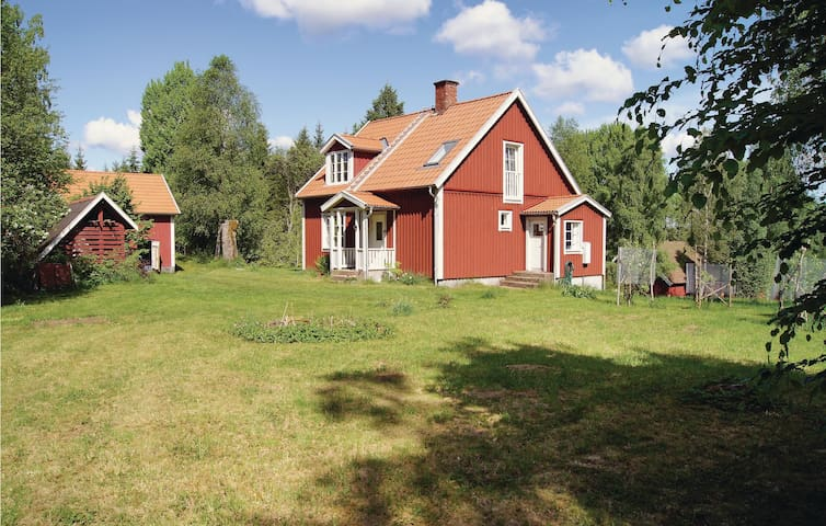 Holiday cottage with 2 bedrooms on 100 m² in Lidhult