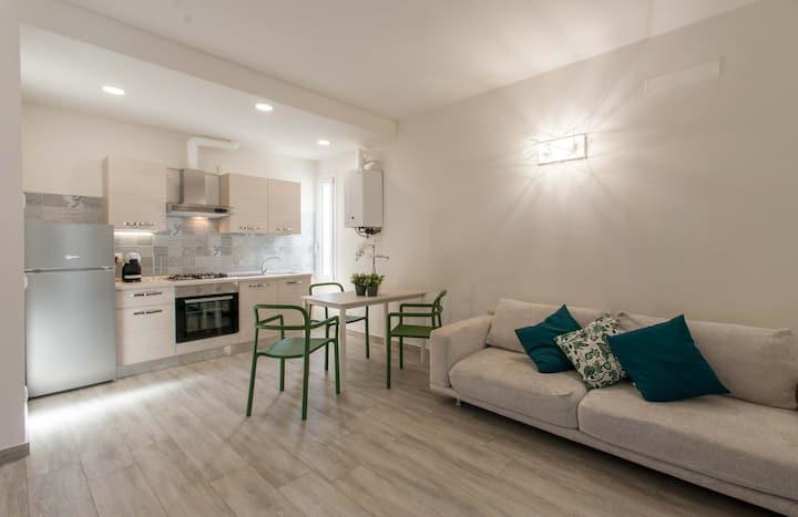 Nuovo appartamento con giardino ingresso esclusivo