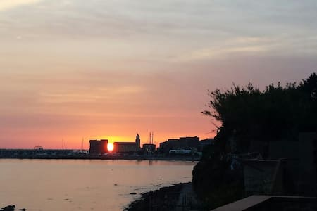 La terrazza nel mare: tramonti di primavera - Acciaroli - Casa