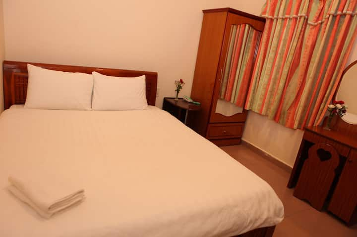 Superb Deluxe Double Room at Quang Chien Hotel
