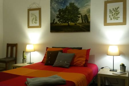 Big and comfortable room in a cozy house! - El Cuchillo
