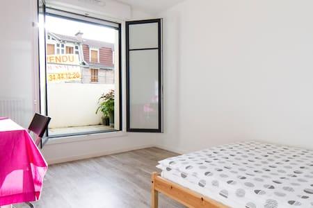 Sunny Room near Paris - Franconville
