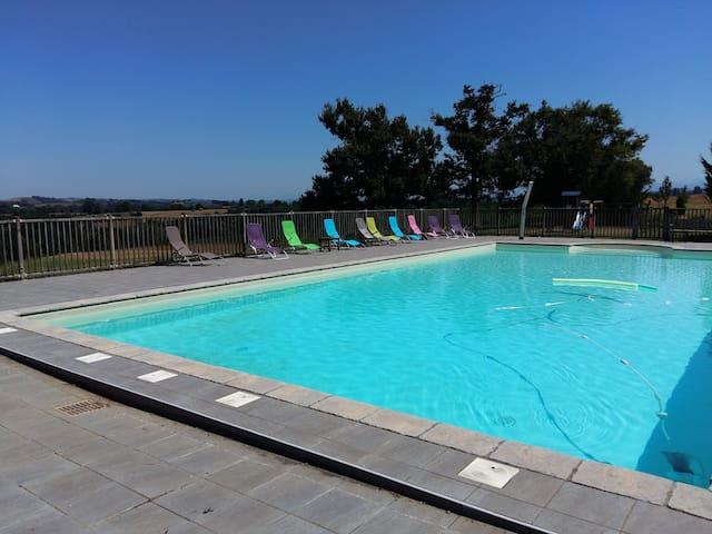 appartement spatieux au cœur du Pays-Basque - Beyrie-sur-Joyeuse - Διαμέρισμα