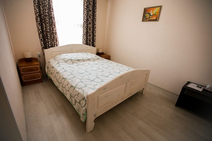 Двухместный номер с 1 кроватью и собственной ванной комнатой